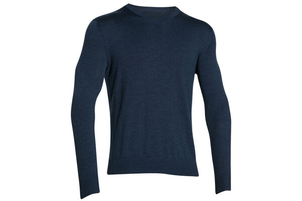 UA Sweater VNeck Tips S6