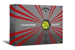 12 palline da golf Callaway Golf Chrome Soft X 2017