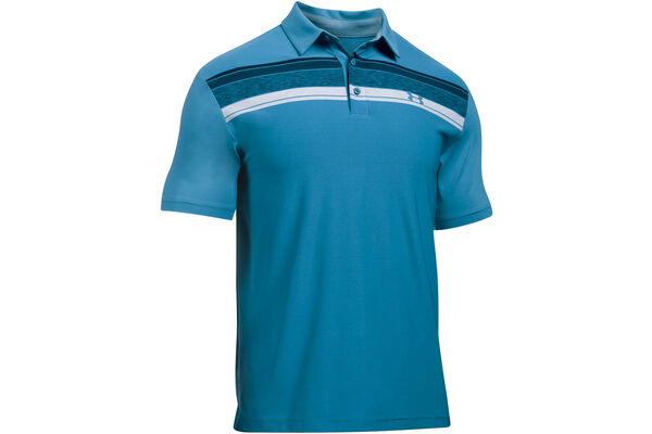 UA Polo Playoff Chest StripeS6