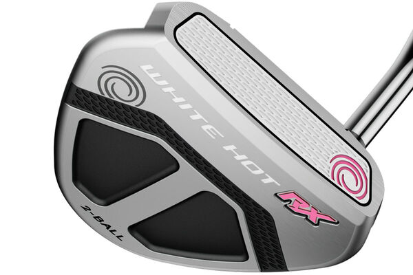 Putter Odyssey White Hot RX 2-Ball V-Line donna