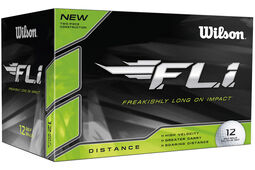 12 palline da golf Wilson FLi