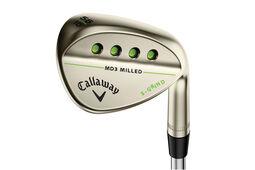 Wedge Callaway Golf MD 3 Milled Gold Nickel