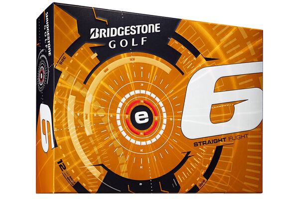 12 palline da golf Bridgestone Golf e6 2015