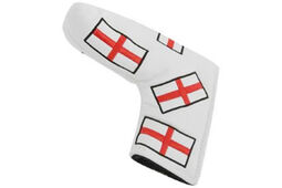 Copri-putter Masters Golf HeadKase England Flag