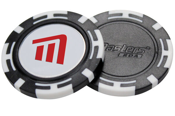 Poker Chips with Ball Marker
