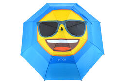 Ombrello emoji Cool Face Double Canopy