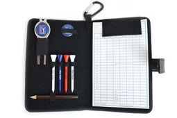 Confezione con accessori e segnapunti in pelle PGA Tour