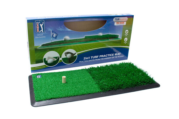 PGA Tour 2 in 1 Dual Turf Mat
