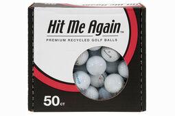 50 palline di seconda mano Challenge Golf recuperate dagli ostacoli d'acqua