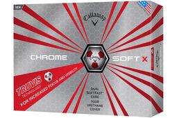 12 palline da golf Callaway Golf Chrome Soft X Truvis 2017