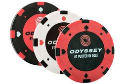 Marchini per palline Odyssey Poker Chip - Confezione da 3