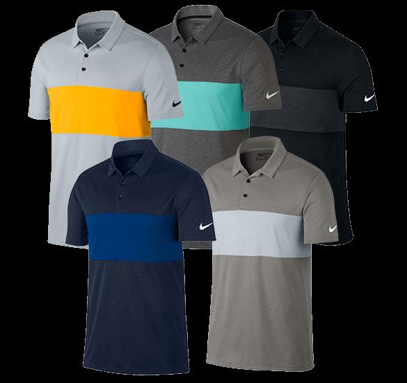 Polo Nike Golf Breathe Colour Block