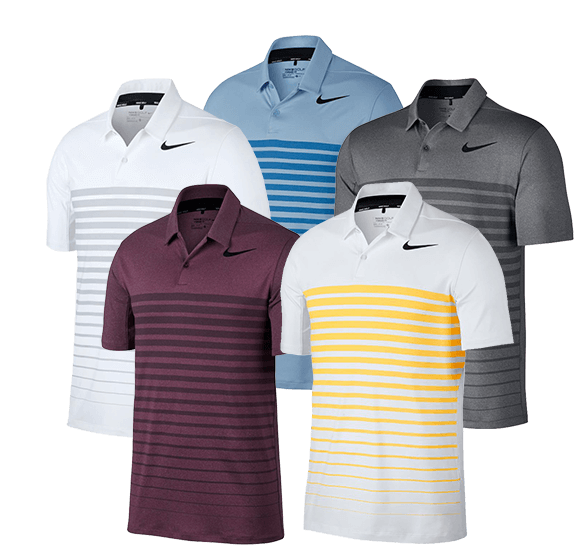 Polo Nike Golf Dry Heather Stripe