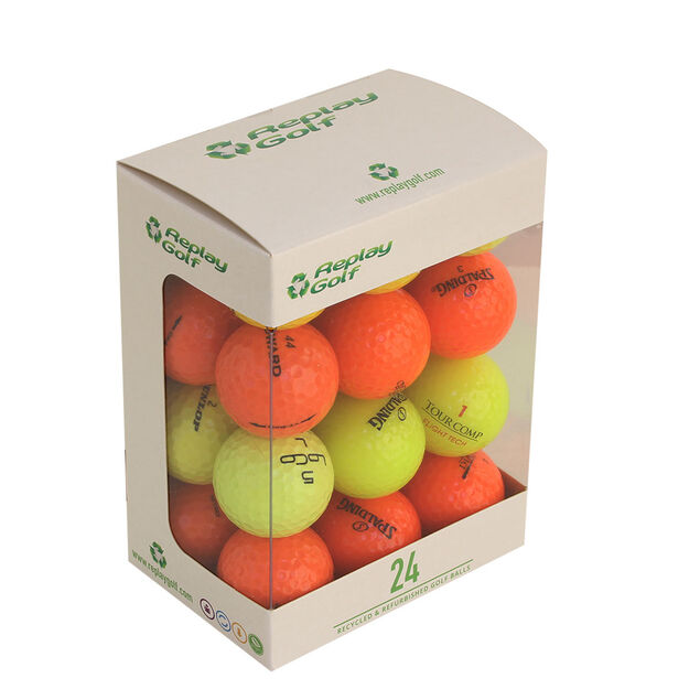 "0a36f39429c180 Palline Replay Golf ""Lake"" colorate - confezione da 24 | Online Golf"