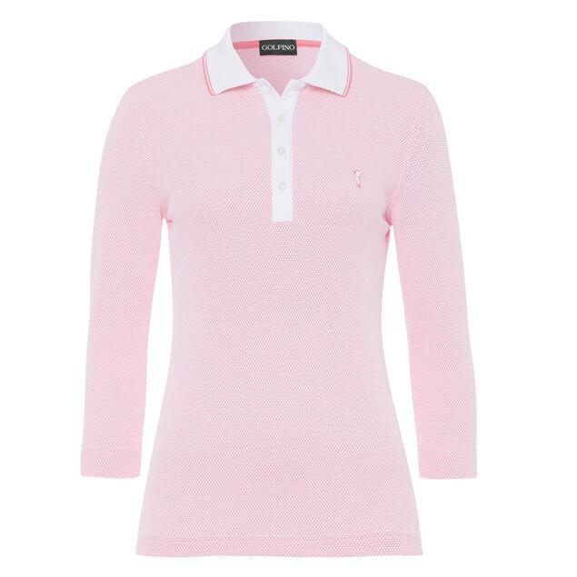 online retailer 0f66f 6ab71 Polo GOLFINO Bubble Jacquard donna