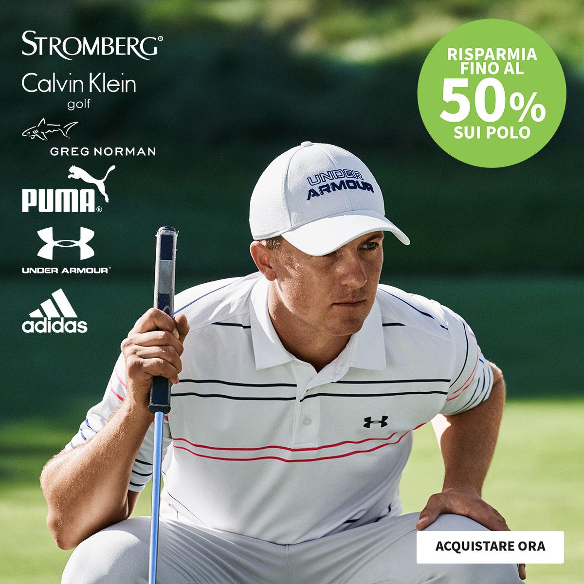 50% off Polos