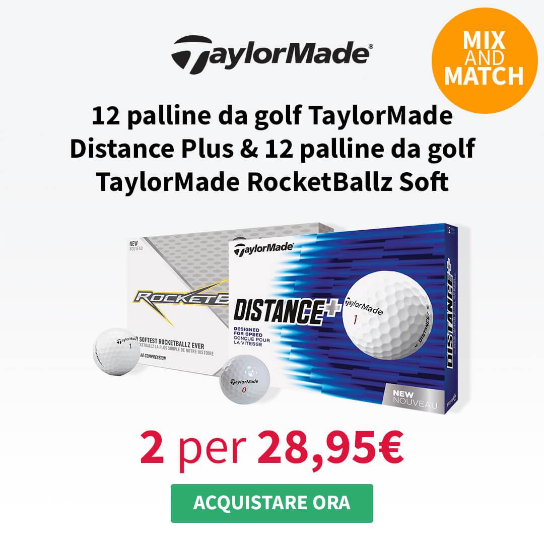 Taylormade Distance & Rocketballz