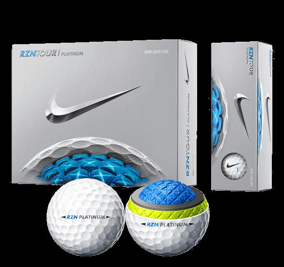 Nike Golf RZN Tour Platinum 12 Golf Balls 2016